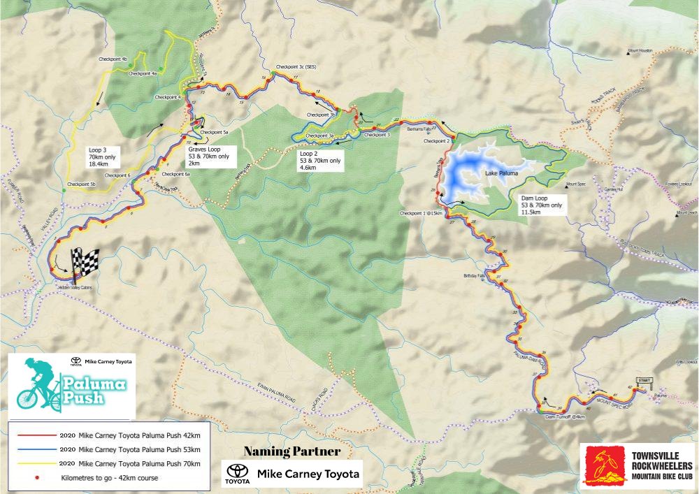 Paluma_Push_Course Map
