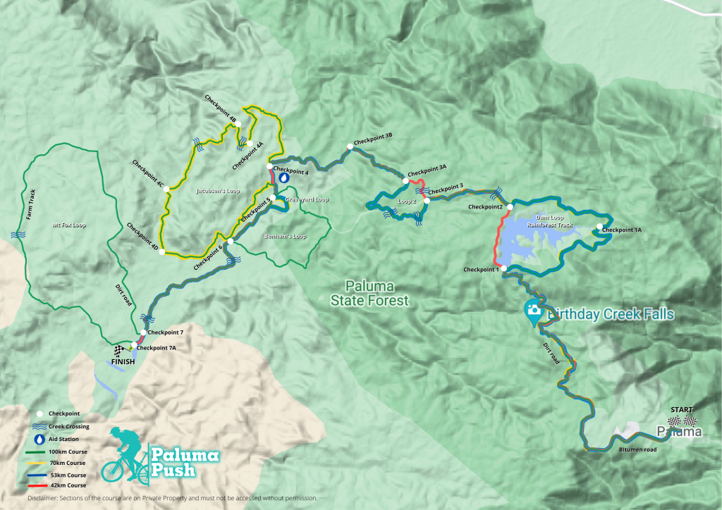Paluma Push Overview CP map